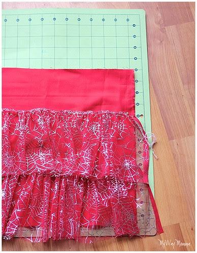 MWM Red 2 tier Halloween Skirt Oct 2012 19