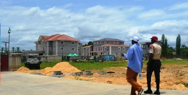 Jonathan's House In Otuoke Where He Will Be Retiring To -