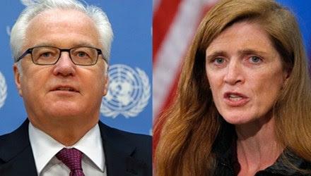 Hình ảnh Nga - Mỹ lại đấu khẩu dữ dội ở Liên Hợp Quốc số 1