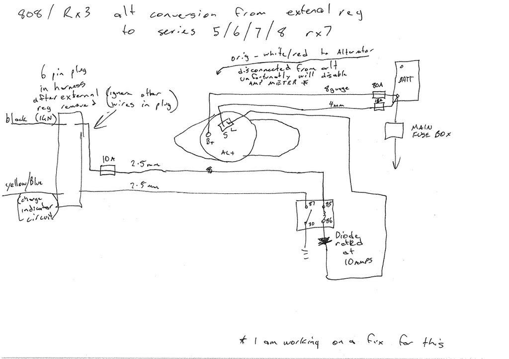 Mazda 3 Alternator Wiring Diagram