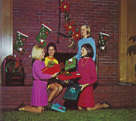 Christmas in 1969