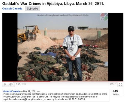 Screenshot: Victims of Ajdabiya NATO massacre presented by QuatchiCanada picture