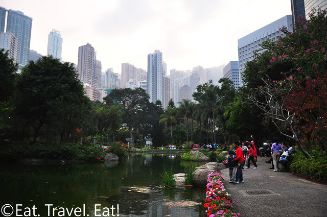 Park Encapsulated by the City