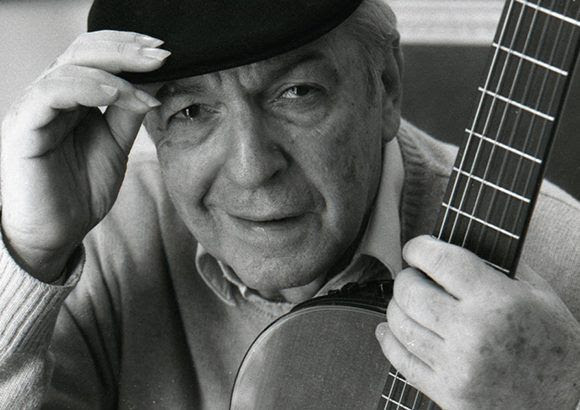 Murió el cantautor urguayo Daniel Viglietti. Foto: ojosdecafe.