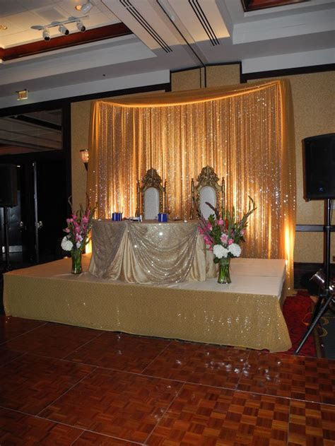 25  best ideas about Wedding stage backdrop on Pinterest