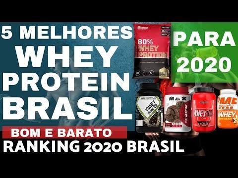 5 MELHORES WHEY PROTEIN do BRASIL para 2020 Ranking Brasileiro Melhores Whey Bom Barato Casa Maromba