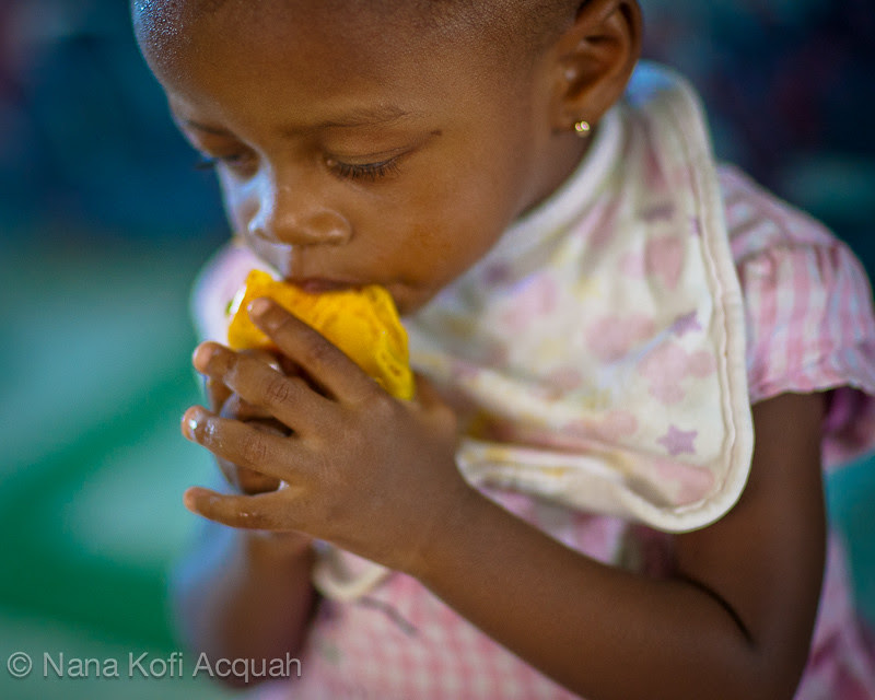 How to eat a mango