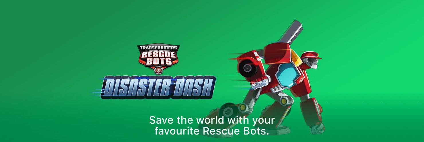 Transformers Rescue Bots: Disaster Dash - Hero Run - Entertainment
