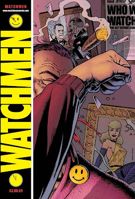 Watchmen Comic-Con movie teaser poster