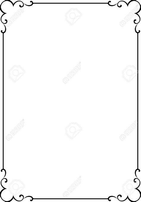 4960557 Vector decorative frame Stock Vector border simple