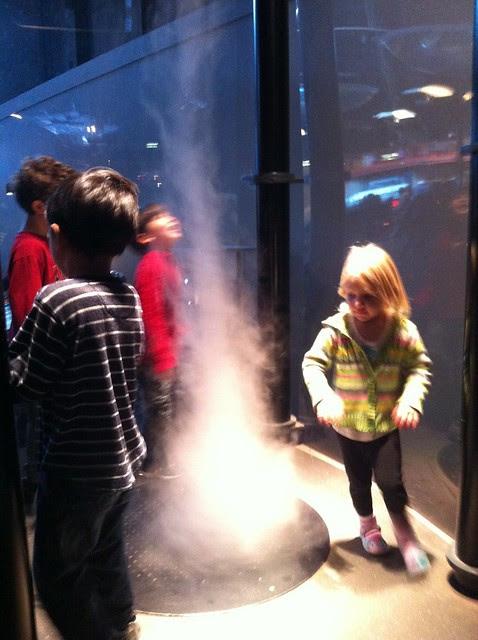 Exploratorium - having fun in the smoke