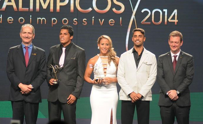 Melhores do ano, Prêmio Paralimpico (Foto: Andre Durão)