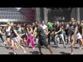World's Largest Simultaneous Flashmob, Hollywood, CA