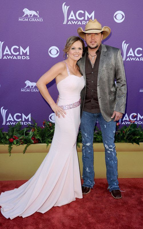 Academy of Country Music Awards - April 1, 2012, Jason Aldean
