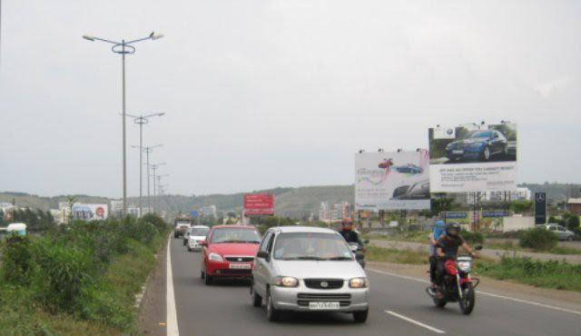 Mumbai Pune Expressway at Baner Pune - Teerth Towers is on the Hinjewadi side