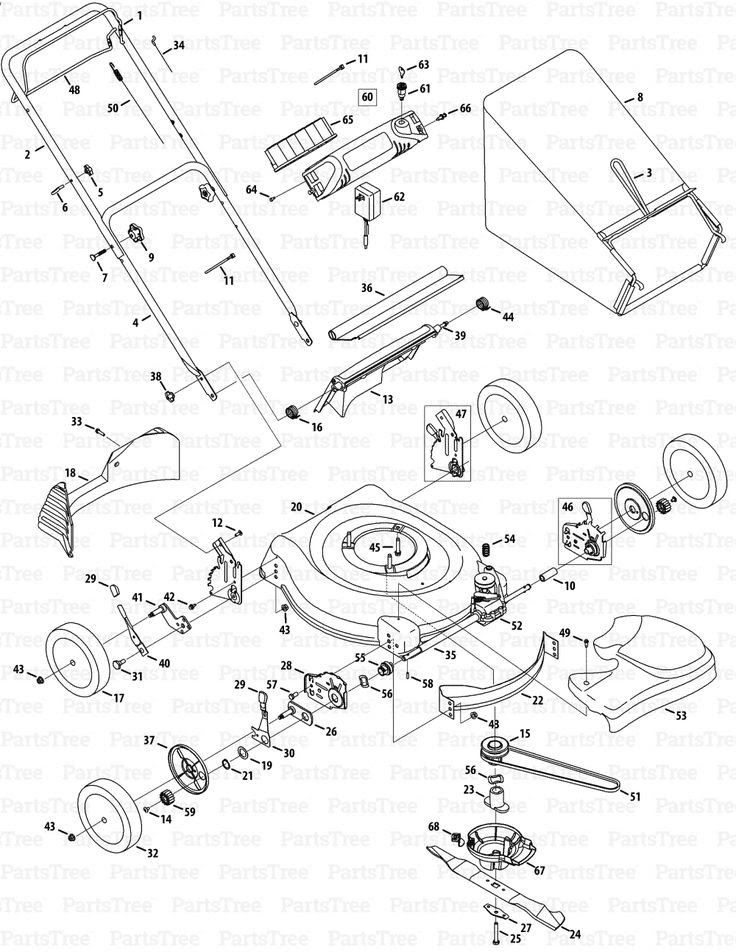 Electrical Wiring Diagram Of A Lawn Mower