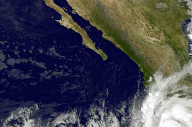 Furacão Patricia, no dia 22 de outubro de 2015. Foto: NASA/NOAA/AFP/Arquivos Ho.