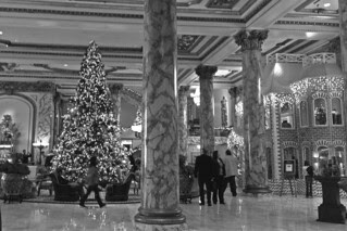 Christmas in the City - Fairmont Hotel lobby