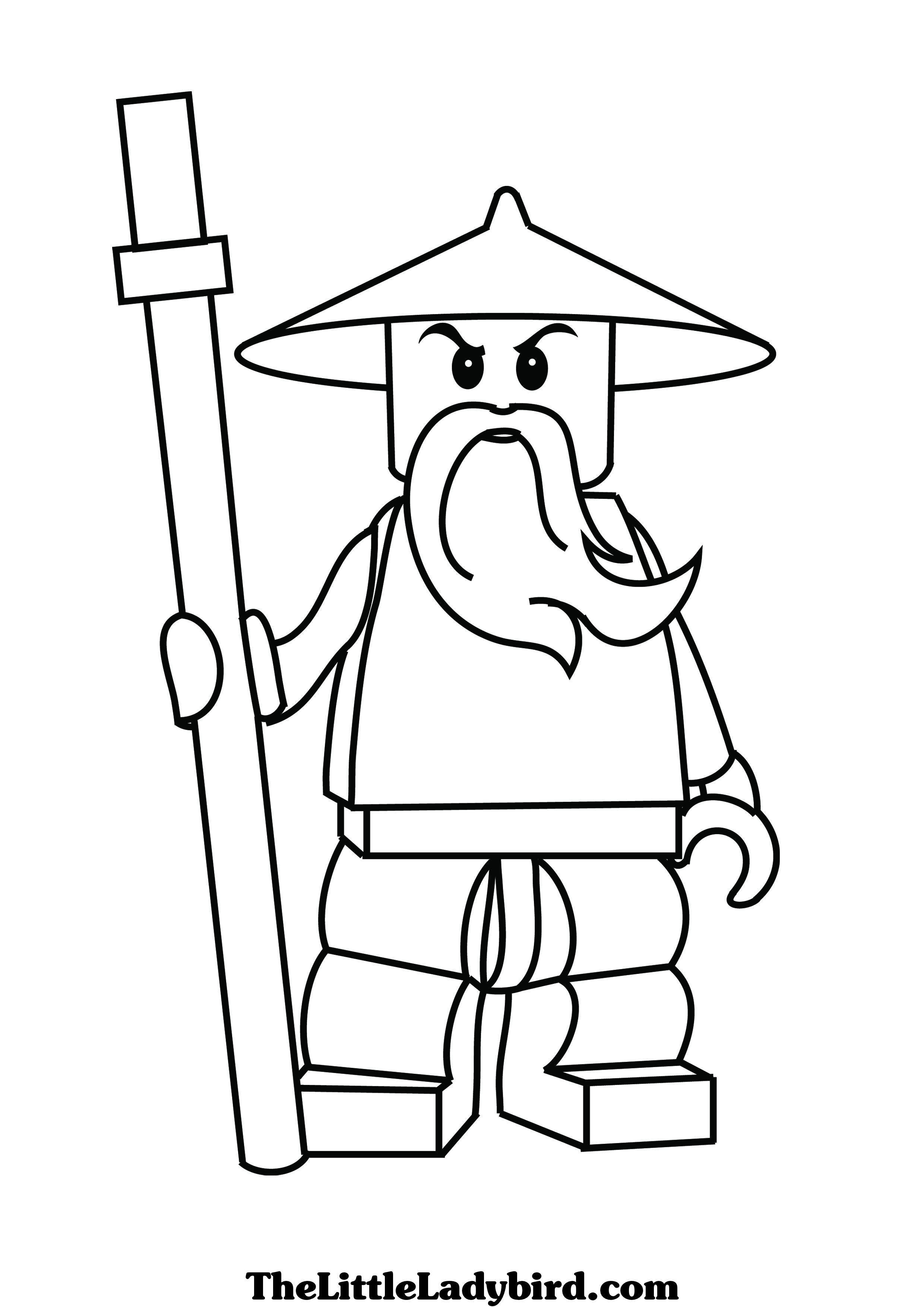 Coloriage ninjago gratuit dessin a imprimer 77