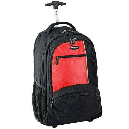 rucksack trolley samsonite laptop rucksack auf rollen wander 3 stockholm laptop backpack wh. Black Bedroom Furniture Sets. Home Design Ideas