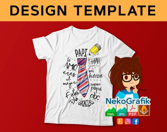 Download Template Sublimation T Shirt Design Vector