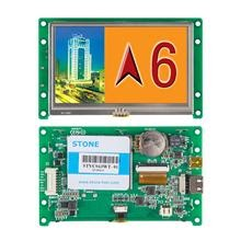 7 UART touch LCD module with control board for HMI panel