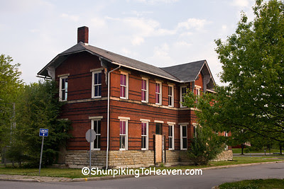 Pittsburgh, Cincinnati, and St. Louis Depot, Zanesville, Ohio