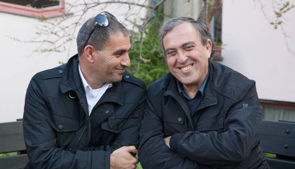 El palestino Bassam Aramin y el israelí Rami Elhanan.