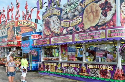 Big Butler Fair Traveling Stands