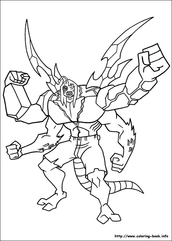 How to Draw Crashhopper from Ben 10 Omniverse - DrawingNow | 794x567