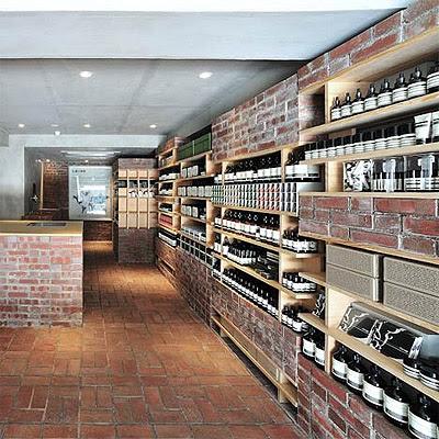 Skincare Store Design with Brick Interior - Commercial