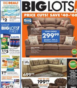 Big Lots Sales Ad 0801 08082015 Simmons Velocity Shitake Sofa