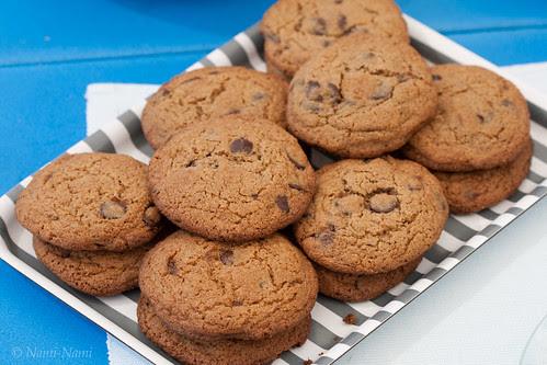 Chocolate chip cookies / Šokolaadiküpsised