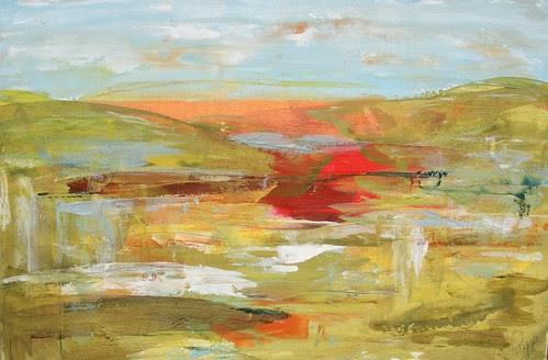 Melissa Payne Baker colorful landscape