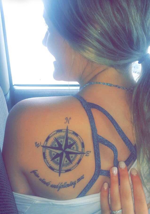 17 Best Ideas About Nautical Compass Tattoo On Pinterest
