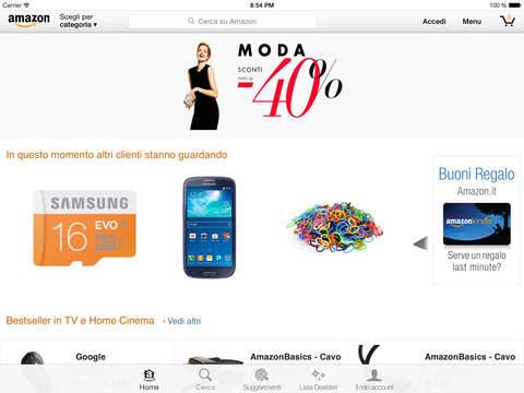Amazon Mobile, l'app si aggiorna alla vers 4.4.1