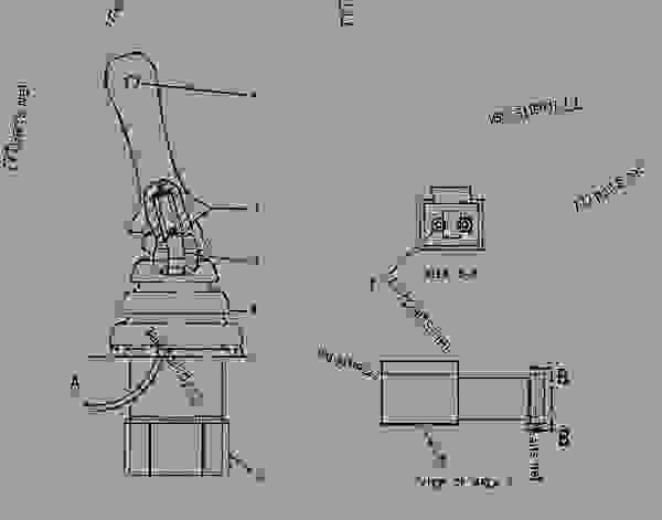 1445985 Control Group Joystick Rh Mini Hydraulic Excavator Caterpillar 302 5 302 5 Mini Hydraulic Excavator 4az00001 Up Machine Powered By 3013 Engine Operator Station 777parts