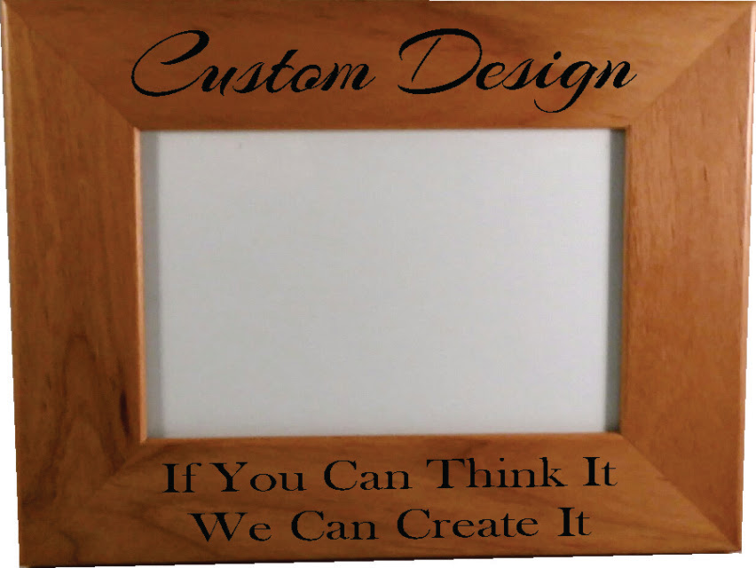 Custom Engraved Wood Picture Frames Picture Frame Ideas