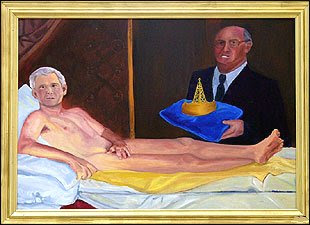 the famous Bush painting by Kayti