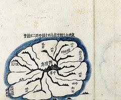 1861 金正浩「大東輿地図」鬱陵島図 国会図書館版_1
