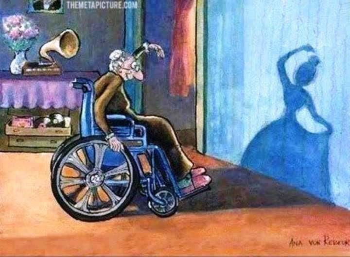 """La vieillesse est un """"no phrase""""."""