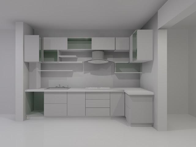 CNN Times IDN: KItchen interior free 3D Model OBJ FBX MA MB