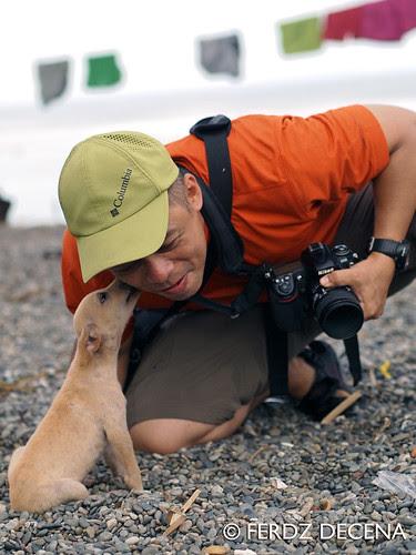 Maconacon Og with the Dumagats' Dog