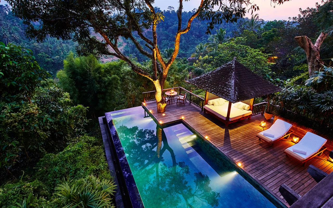 Top 10: the best Bali honeymoon hotels | Telegraph Travel