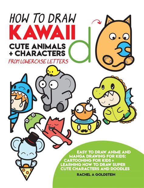 drawing kawaii cute animals characters  lowercase