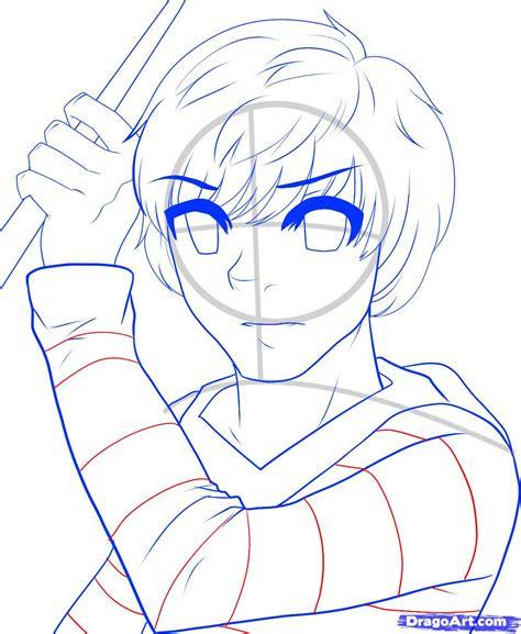draw ron weasley anime ron weasley harry potter