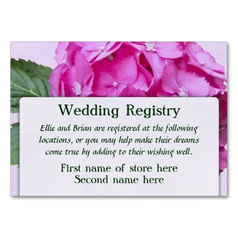 8 Best Images of Free Printable Wedding Registry Inserts