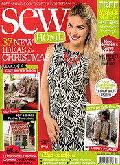 Sew UK magazine cover
