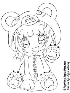 4400 Pretty Anime Girl Coloring Pages , Free HD Download