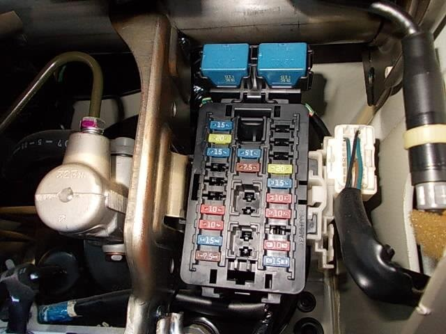 1996 Suzuki Carry Fuse Box